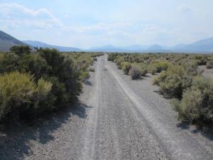 granite gravel road